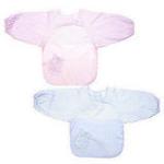 FLUREBABY高科技抗菌防水罩衣粉色M