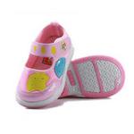 哈利宝贝秋季新款防滑软底男女童单鞋B156粉色15码/鞋垫实长125mm