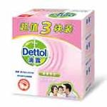 滴露中国香皂滋润倍护三块装125克*3