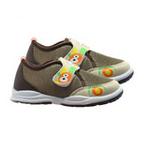 哈利宝贝秋季新款男女童软底运动网鞋B286棕色26码/鞋垫实长155mm
