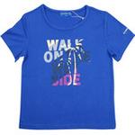 红蜻蜓缤纷海岛系列短袖T恤52720361蓝色/150