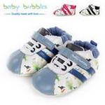 babybubbles休闲系列婴童鞋054-9095-123蓝/17