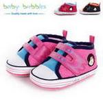 babybubbles休闲系列婴童鞋059-5074-023玫红/19