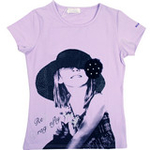 红蜻蜓畅想普罗旺斯系列短袖T恤52720416浅紫色/160