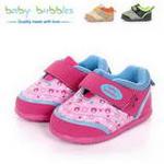babybubbles休闲系列婴童鞋051-5090-023粉色/21