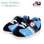 babybubbles休闲系列婴童鞋056-9101-123深蓝/22