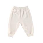 琪凯宝宝有机棉系列婴儿夹棉爬裤115048米白59cm