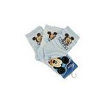 Disney迪士尼米奇/米妮三件组宝宝/儿童袜(三双装)水蓝 12/14cm