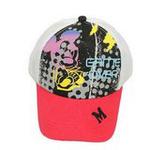 Disney迪士尼儿童帽夏日米奇遮阳帽6086白色54cm