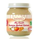 法国Babybio有机水果谷物泥