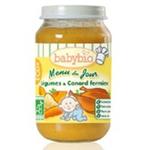 法国Babybio有机蔬菜鸭肉泥