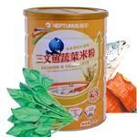 喜安智米粉3阶段(三文鱼蔬菜米粉)