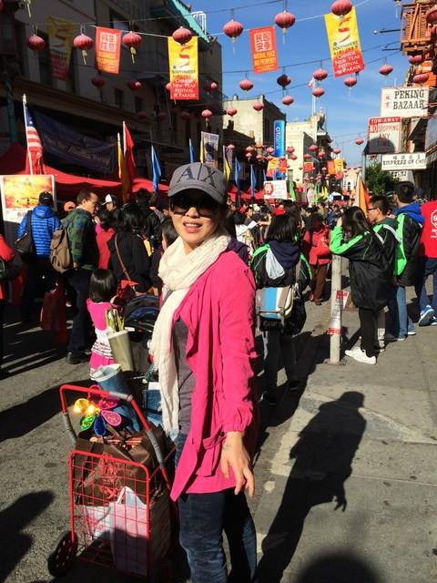 中国新年逛-----旧金山唐人街庙会 - 豆豆 - 豆豆 (原创)BLOG