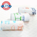 100%纯棉纱枕巾3条装