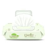 漂儿适韩国进口婴儿湿巾高级70片绿色带盖