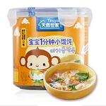 天然世家鱼肉豆腐+虾仁蔬菜桶装小馄饨