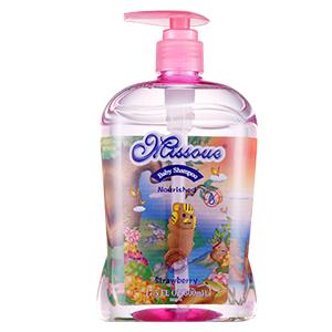 澳洲missoue蜜语进口婴儿滋养洗发水草莓味500ML