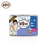 宝松怡BOSOMI婴儿裤型纸尿裤 加大号L36片男 韩国原装进口