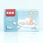 贝因美超柔倍爽纸尿裤L码40片(BabyBox试用为4片装)